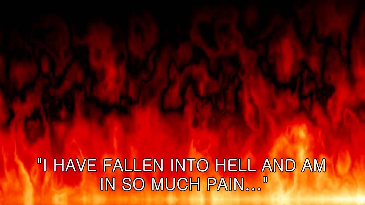 pope cries out from hell a vision from hell youtube