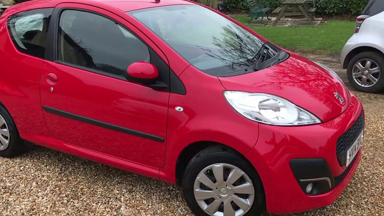 Peugeot 107 Active For Sale via Small Cars Direct, Hampshire - YouTube