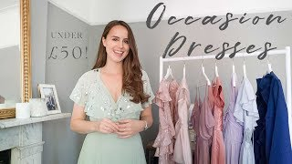 WEDDING GUEST DRESSES UNDER £50! | BUDGET OCCASION DRESSES | Laura Melhuish-Sprague