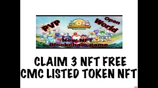 CLAIM YOUR 3 NFT NOW | ETHERMON GAMING PLATFORM NFT | COINMARKET CAP LISTED TOKEN EMON