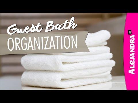 Guest Bathroom Organization Ideas & Tour (Part 2 of 2)