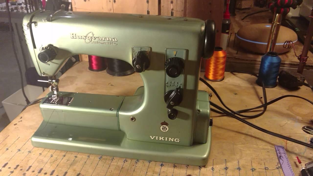 husqvarna viking 21 1 5 amp machine sewing bobbin winding zig zag rh youtube com Husqvarna Pistol Husqvarna Transmission Parts