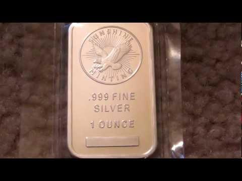 Sunshine Mint 1 oz Silver Bars