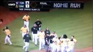 2012 MLB Walk Off Home Runs Part 1