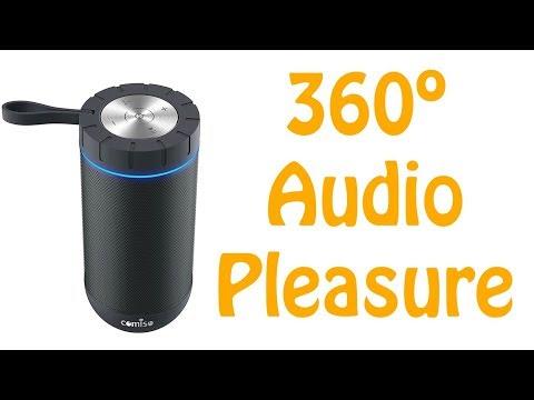 COMISO True Wireless Stereo Portable Waterproof Speaker