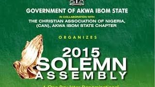 Akwa Ibom State 2015 Solemn Assembly