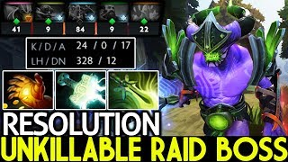RESOLUTION [Faceless Void] Unkillable Raid Boss Crazy Speed Build 7.22 Dota 2