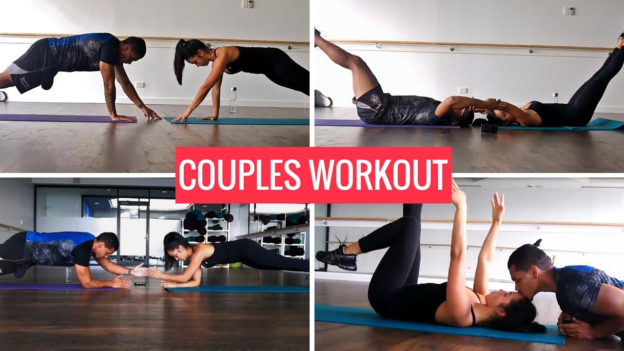 Couples Core Workout Routine - YouTube