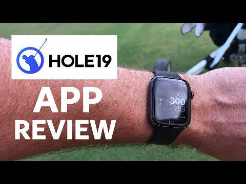 HOLE 19 APP REVIEW // IPhone And Apple Watch Review On Course