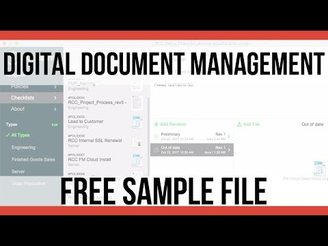 FREE Digital Document Management Sample File | FileMaker Pro 16 Videos | FileMaker Pro 16 Training