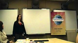 Toastmasters - Speech 6 - From Fear to Accomplishment