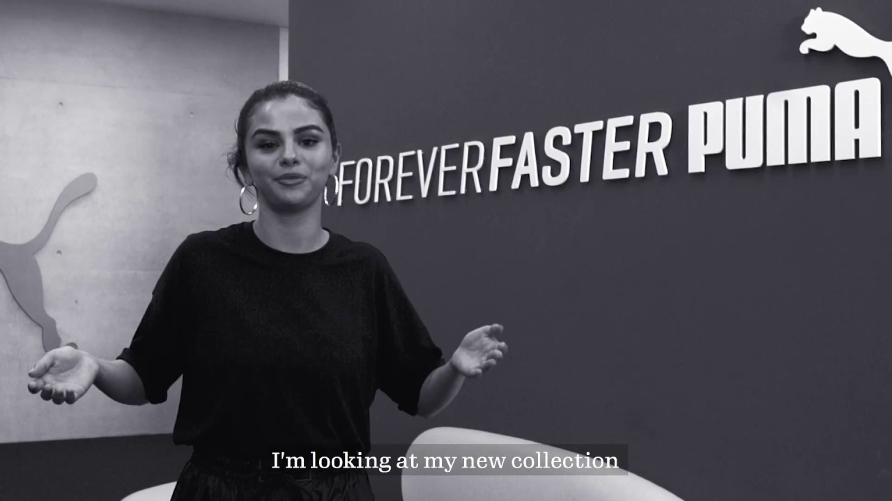 cc2f6f6f902 Exclusive  Selena Gomez at the Puma Headquarters in Germany - YouTube