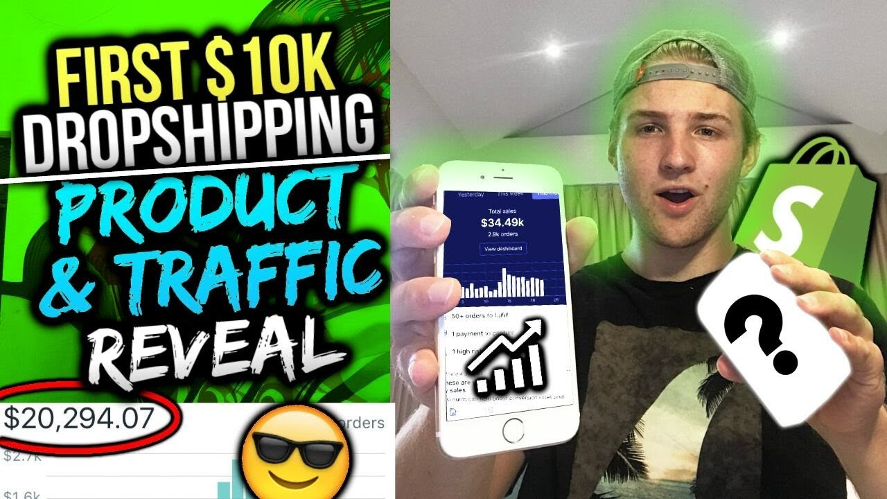 how to make 10k a month dropshipping