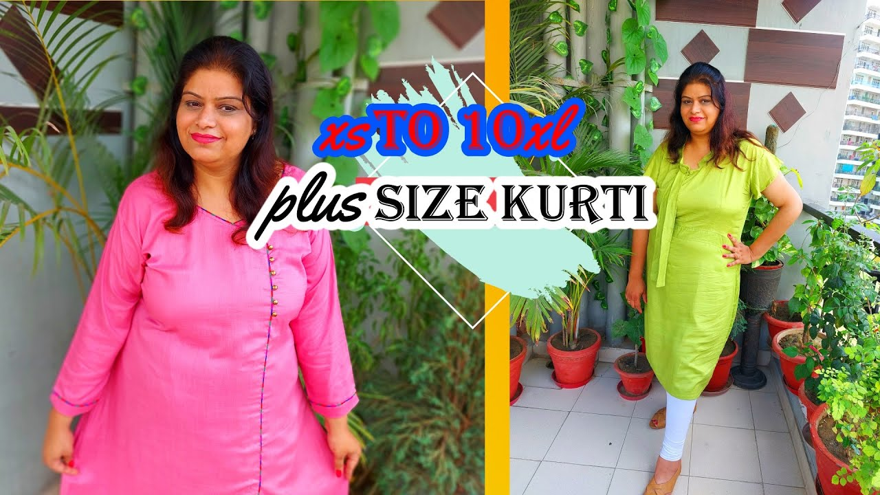 XS to 10XL Casual Kurti Haul // Plus Size Kurti Haul // Budget Friendly Plus Size Kurti || TIO TV 📺