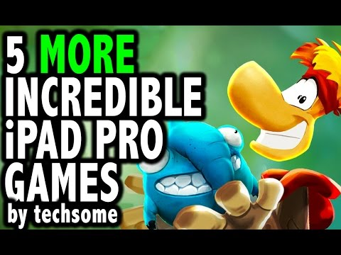 5 More Incredible Games Optimised for iPad Pro