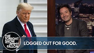Trump Banned from Twitter | The Tonight Show