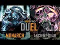 YGOPro Duel - MONARCH vs ANCIENT GEAR   Yugioh December 2017 (Link Format)