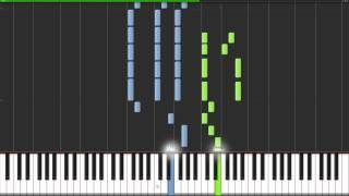 Lykke Li - I Follow Rivers Piano Tutorial & Midi Download