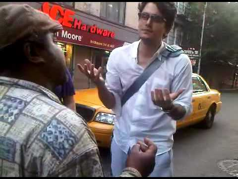 John Mayer 6/17/10 - singing Billie Jean w/ a homeless guy as the sun rises in Greenwich Village