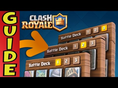 Clash Royale | How to Build a Winning Deck [Guide] & 11 TIPS!