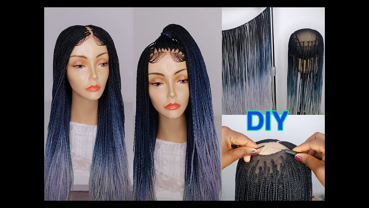 Download HOW TO MAKE A BOX BRAIDS WIG WITHOUT CLOSURE