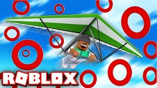 FLYING 50,000 FEET IN THE SKY!! | Roblox Hang Gliding Simulator