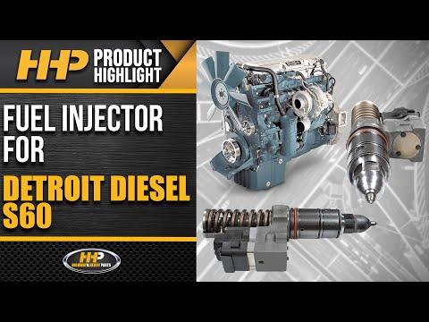 5237650 | Detroit Diesel Series 60 Diesel Engine Fuel Injector, Remanufactured