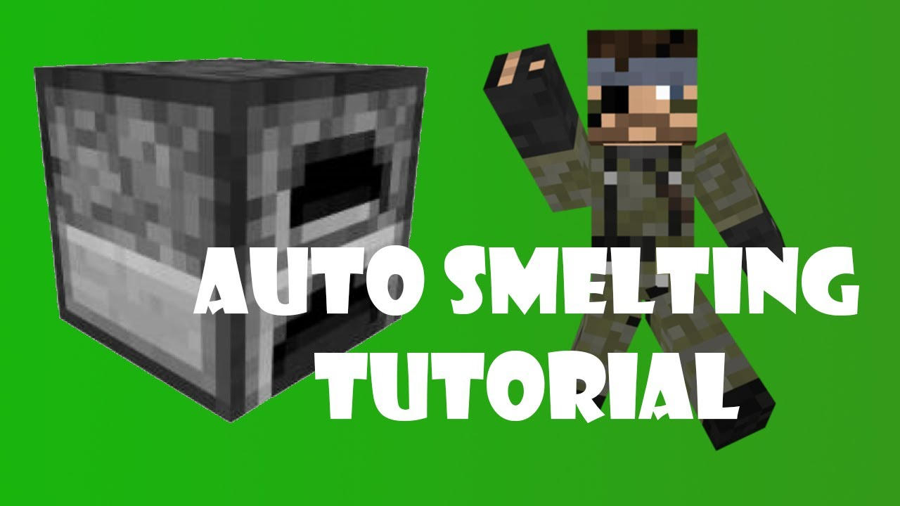 Minecraft: Auto Furnace Contraption Tutorial (With