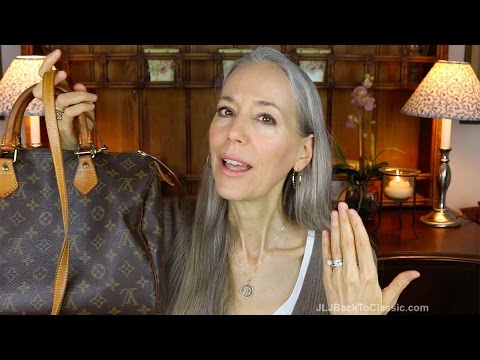 Classic Fashion/Style Over 40/50: Designer Handbag Shaming Chat; My Small Louis Vuitton Collection