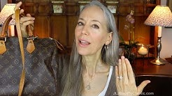 Classic Style: My Louis Vuitton Collection; Designer Handbag Shaming Chat / Fashion Over 40