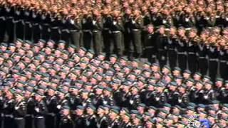 Putin alla parata sulla Piazza Rossa