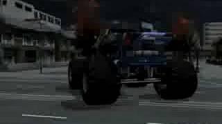 Monster Jam: Urban Assault Video Game Monster Truck Black Stallion