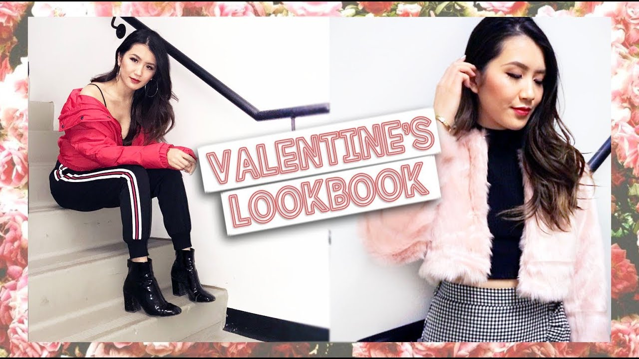 Valentine S Day Lookbook Date Outfits Youtube