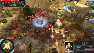 ★Dawn of War 2 Retribution - Imperial Guard Multiplayer Gameplay - Last Stand (PC HD)
