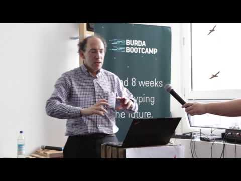 GeekTalks @ Burda Bootcamp. Episode 2: Conrad Wolfram (Wolfram Research Europe)