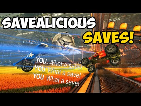 Rocket League Montage - SAVEALICIOUS SAVES!