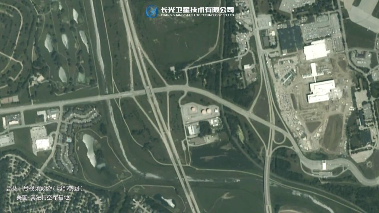 China's Spy satellite real-time surveillance video   JILIN-1