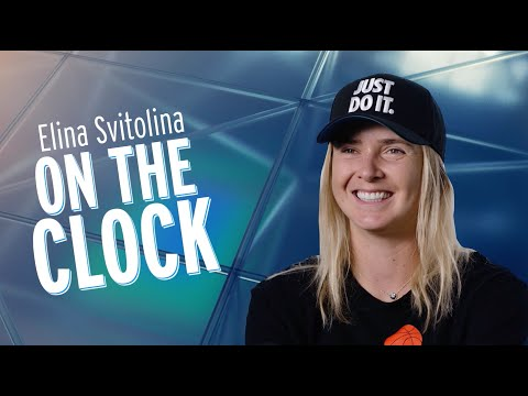 Elina Svitolina | On The Clock Interview