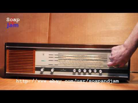 Vintage Radio Grundig Musikgerät RF145