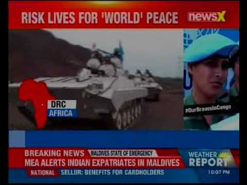 NewsX World Exclusive: Indian Army deployed in biggest UN peacekeeping operation in the world