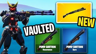 Epic Games removed the Pump Shotgun... for this? (bad idea)