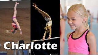 Amazing Belgian gymnast Charlotte Verwimp