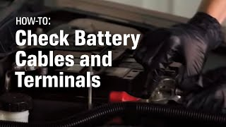 How to Check and Replace Your Car s Battery Cable and Terminal Ends - AutoZone Car Care