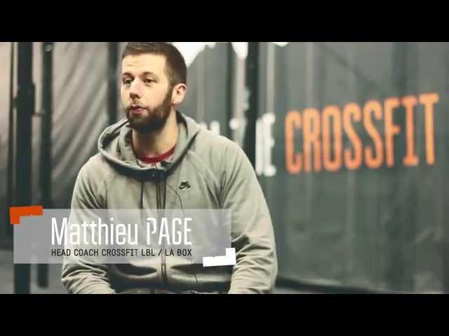 Le CrossFit - Culture de l'effort