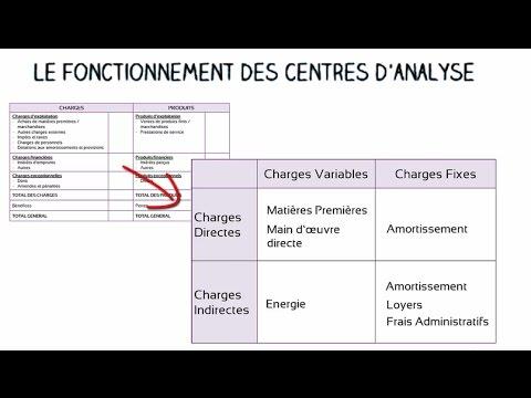 Le fonctionnement des centres d'analyse