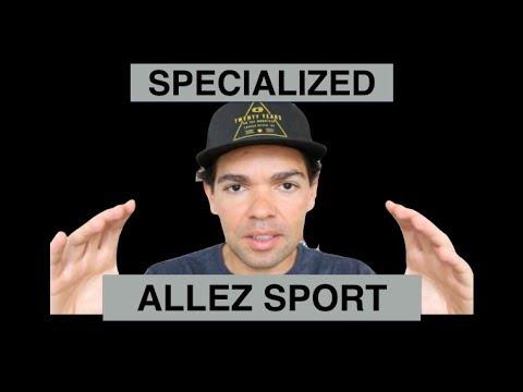 Specialized Allez Sport  2018 - A revolução das bikes de entrada.