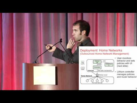 Event-driven Programming in Lithium - Nick Feamster,Georgia Tech