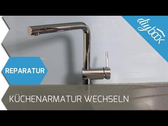 Favorit Küchenarmatur wechseln - Anleitung @ diybook.de VT41