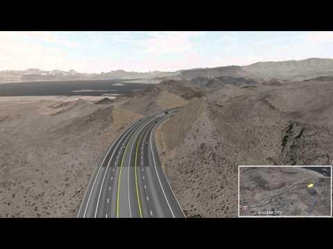 Boulder City Bypass Visual Simulation