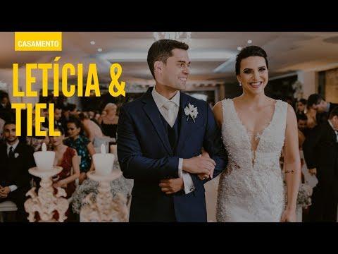 Cerimônia de Casamento Tiel e Letícia